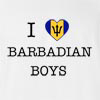 I Love Barbados Boys T-Shirt