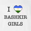 I Love Bashkortostan Girls T-Shirt