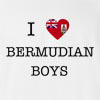 I Love Bermuda Boys T-Shirt