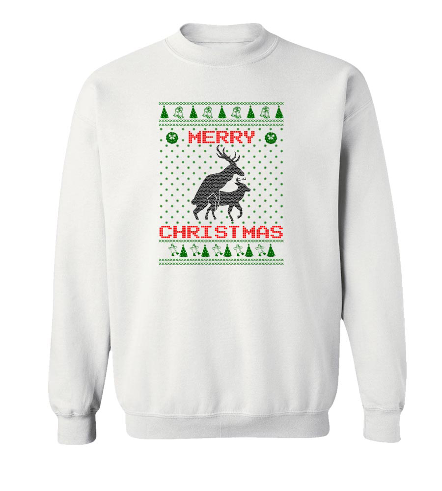Merry Christmas Crew Neck Sweatshirt