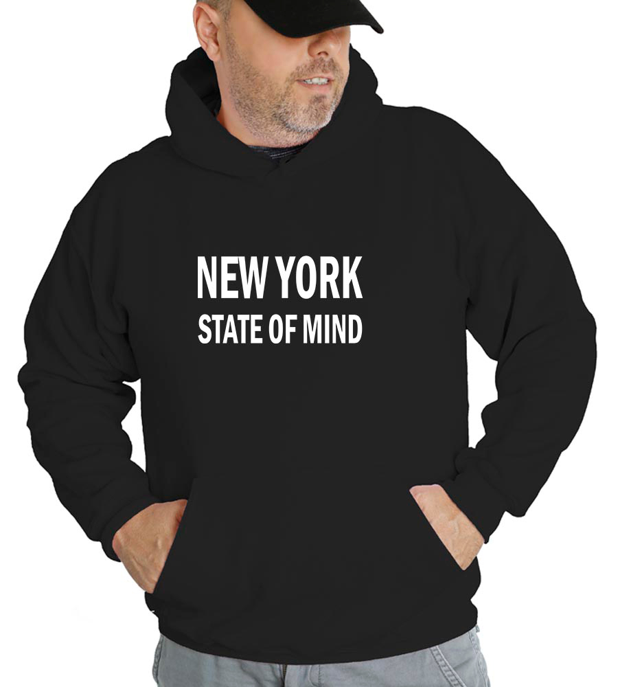 New York State Of Mind Hooded Sweatshirt