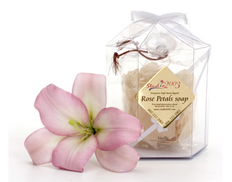 Rose Petals Soap Vanilla Fragrance