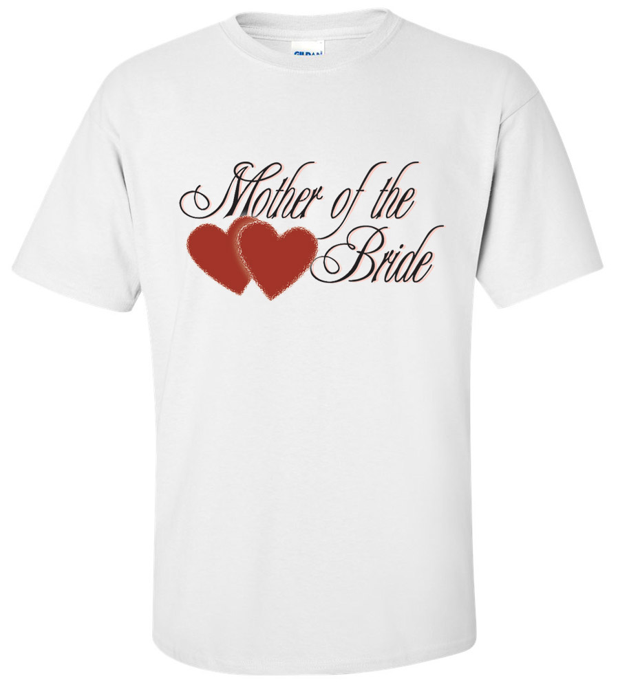Mother of the Bride Wedding T Shirt 2