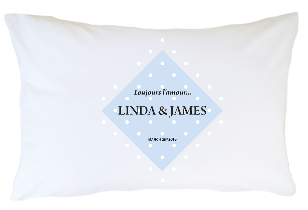 Personalized Pillow Case Set - Toujours Lamour