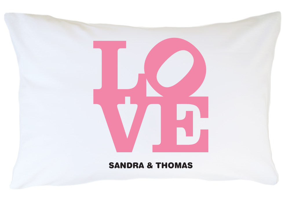 Personalized Pillow Case Set - Love Lust