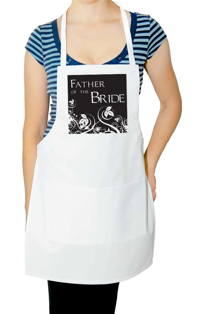 Father of the Bride Wedding Apron 2