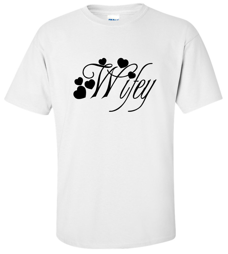 Wifey Wedding T Shirt