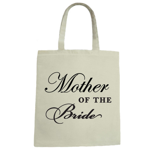 Mother of the Bride Wedding Canvas Tote Bag
