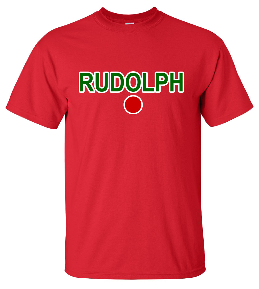 Rudolph the Red Nose Reindeer Christmas T Shirt