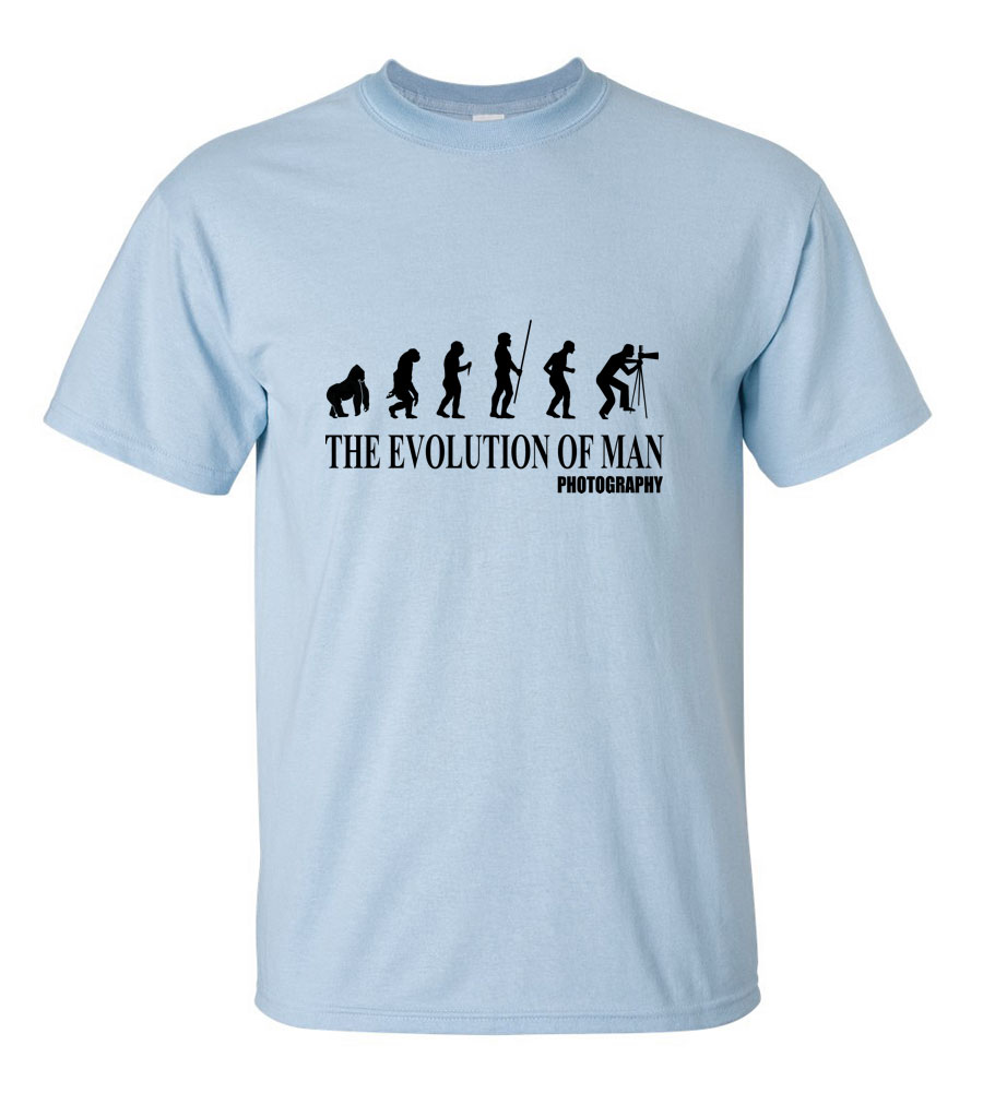The Evolution of Man Photography T Shirt