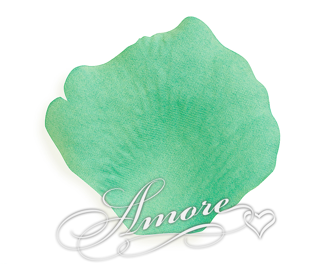 Pool Green Aqua Silk Rose Petals Wedding 1000