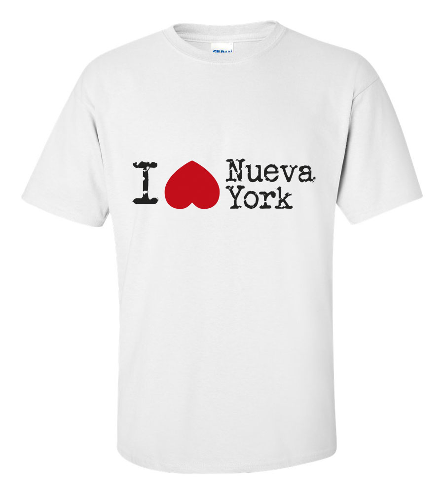 I Heart Love Nueva York T Shirt