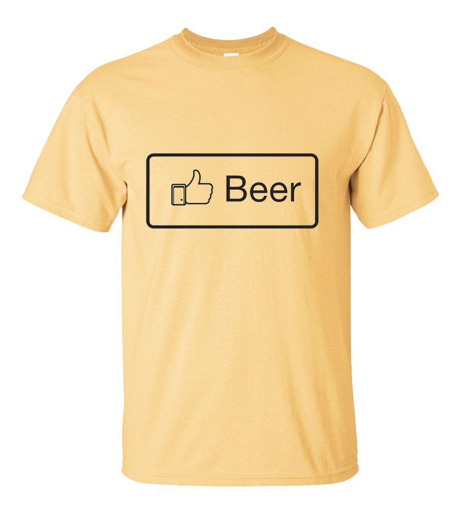 Like Beer Funny T Shirt