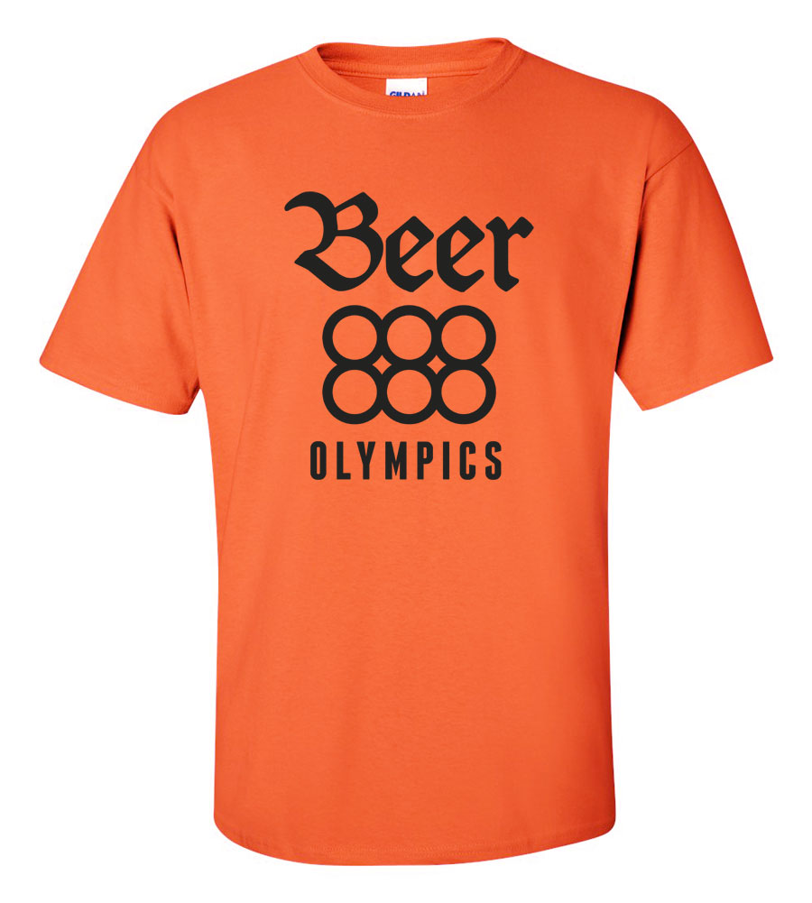 Beer Olympics Funny T Shirt