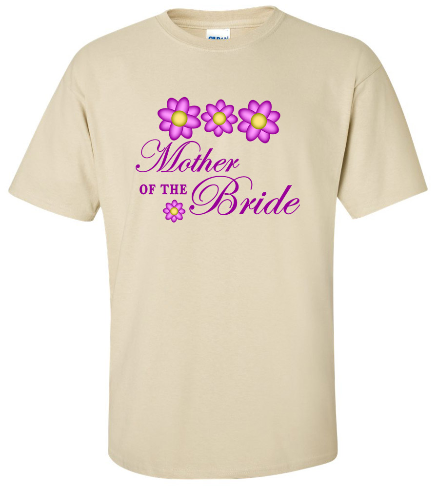 Mother of the Bride Wedding T-Shirt