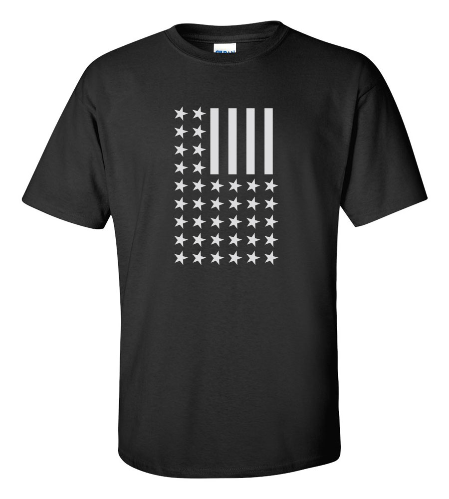 USA Flag Reversed T-shirt