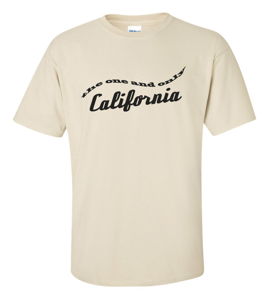 The One And Only California T-shirt