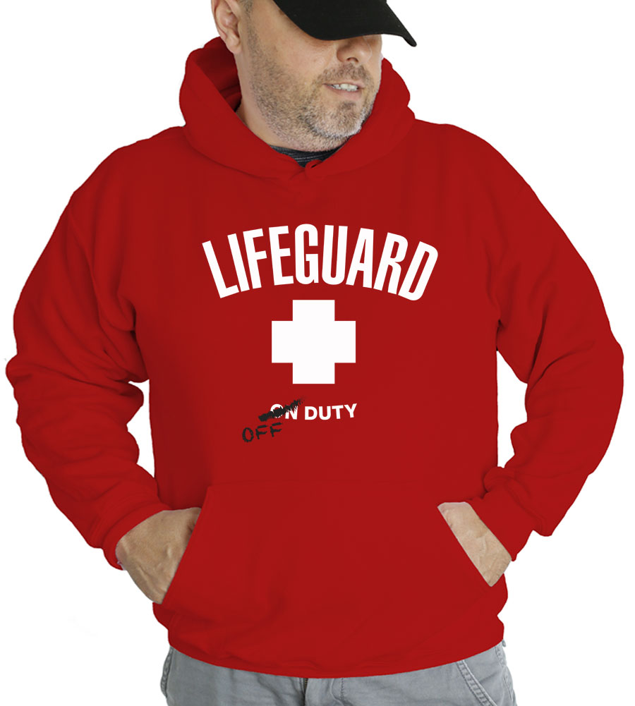 Lifeguard Off Duty Hooded Sweatshirt