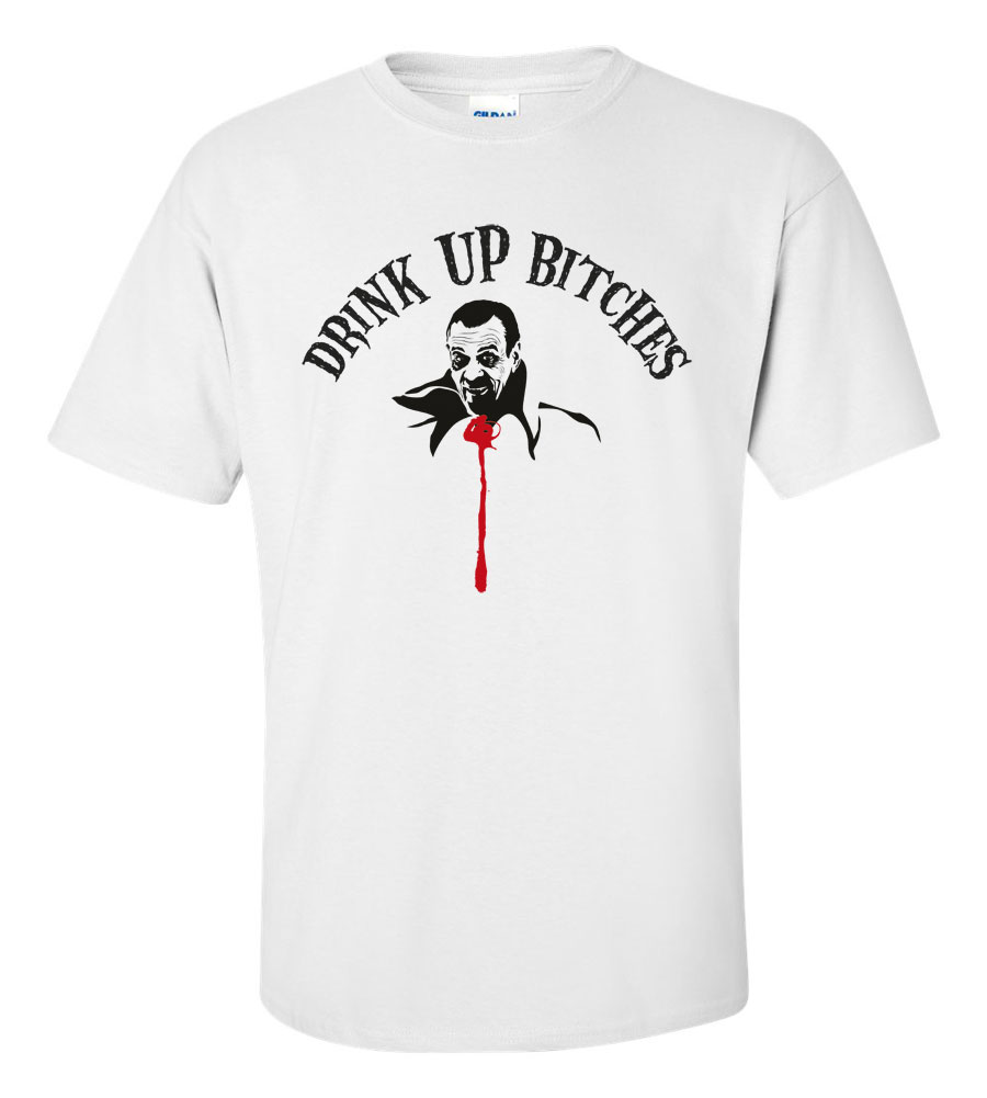 Halloween Drink Up Bitches T-shirt Funny