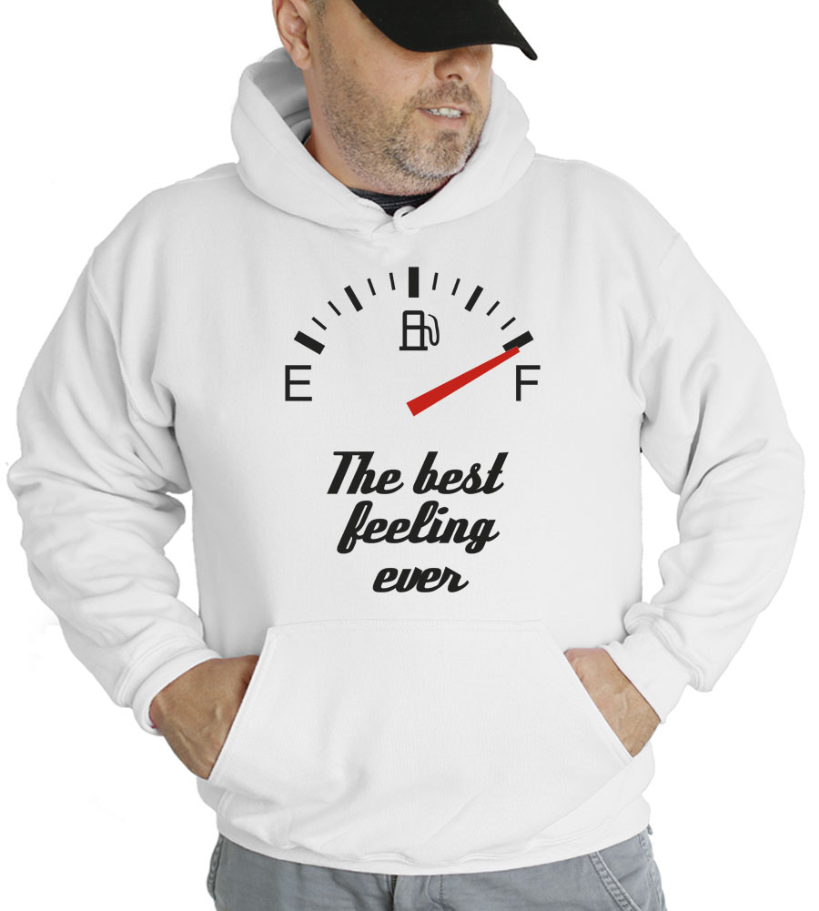 Best Feeling Ever Hooded Sweatshirt