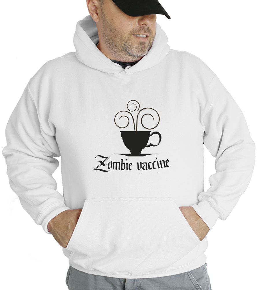 Zombie Vaccine Hooded Sweatshirt
