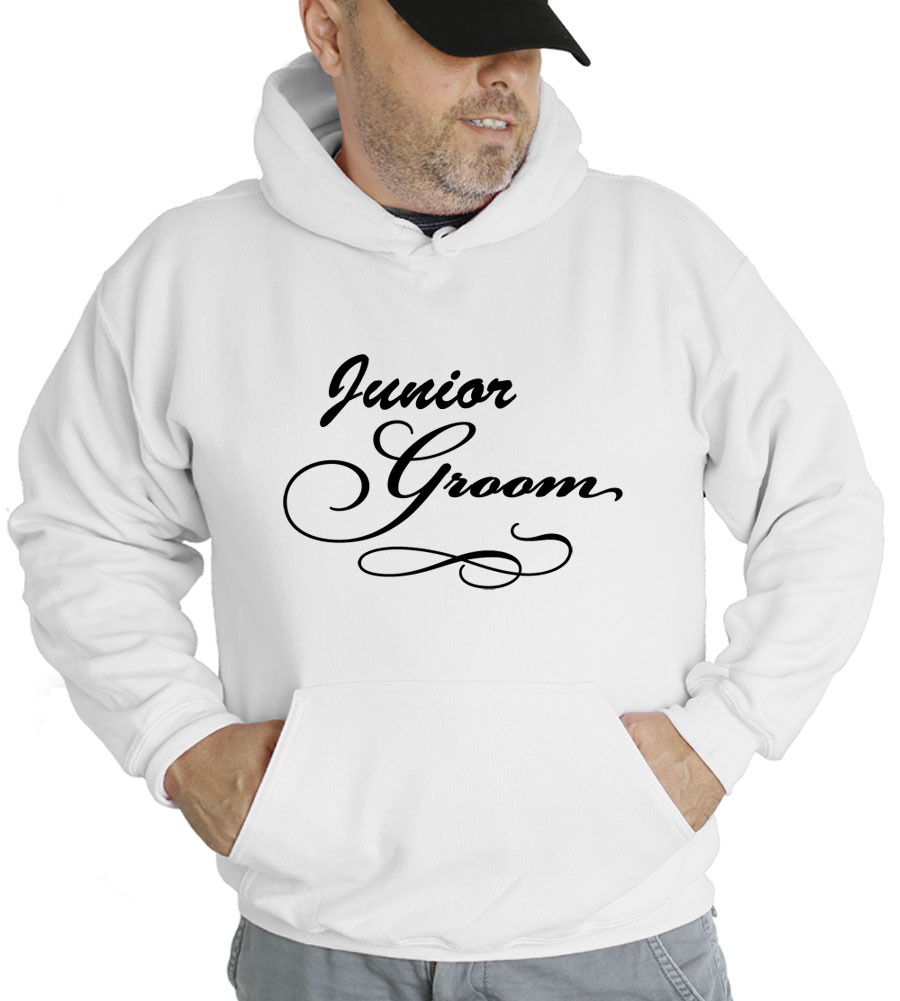 Junior Groom Hooded Sweatshirt