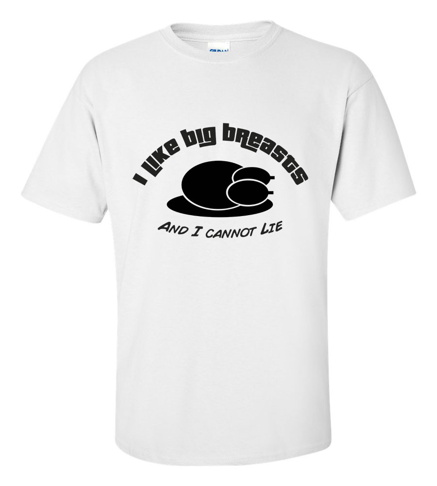 I Like Big Breasts Thanksgiving T-Shirt