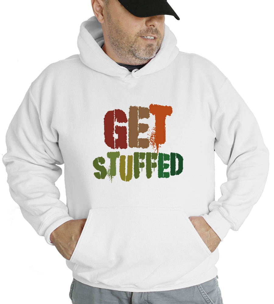Get Stuffed Thanksgiving Hooded Sweatshirt