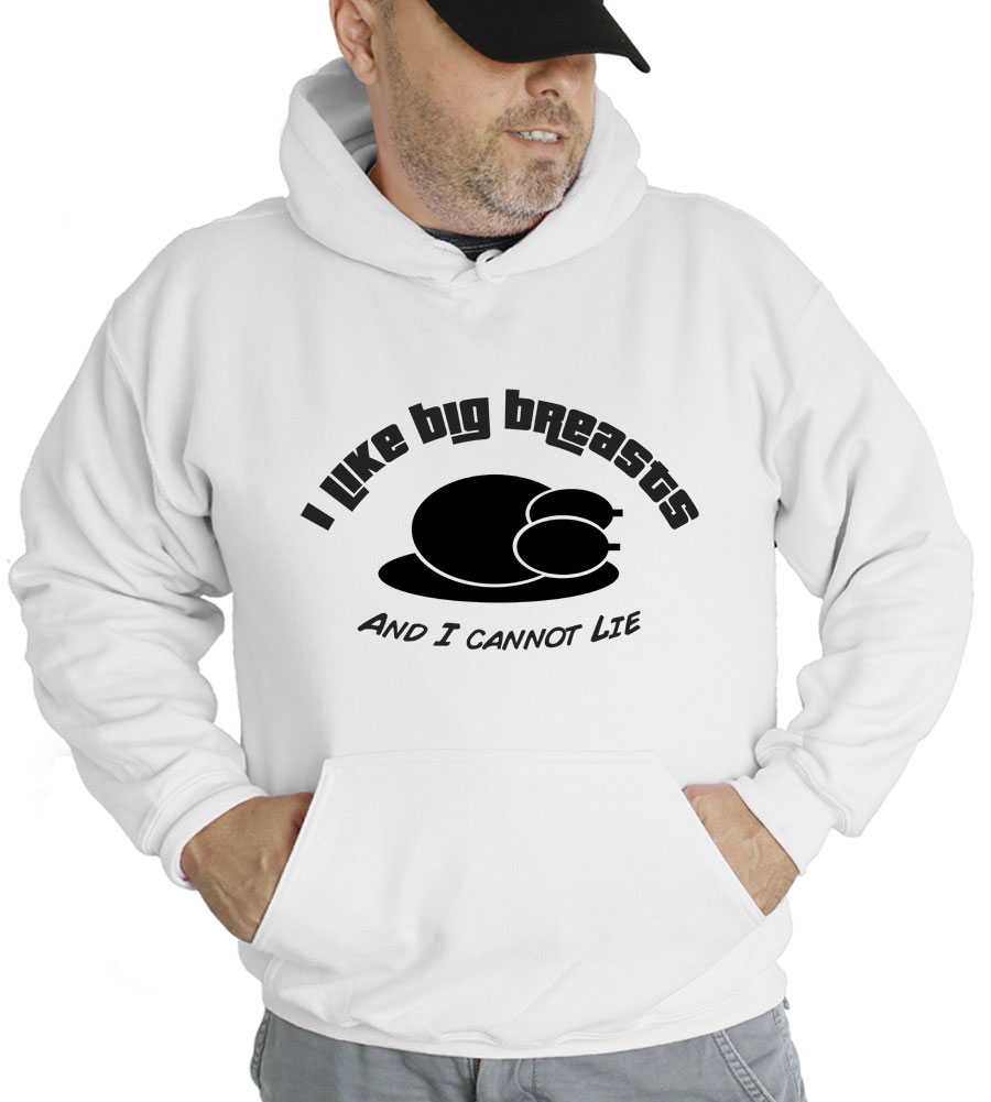 I Like Big Breasts Thanksgiving Hooded Sweatshirt