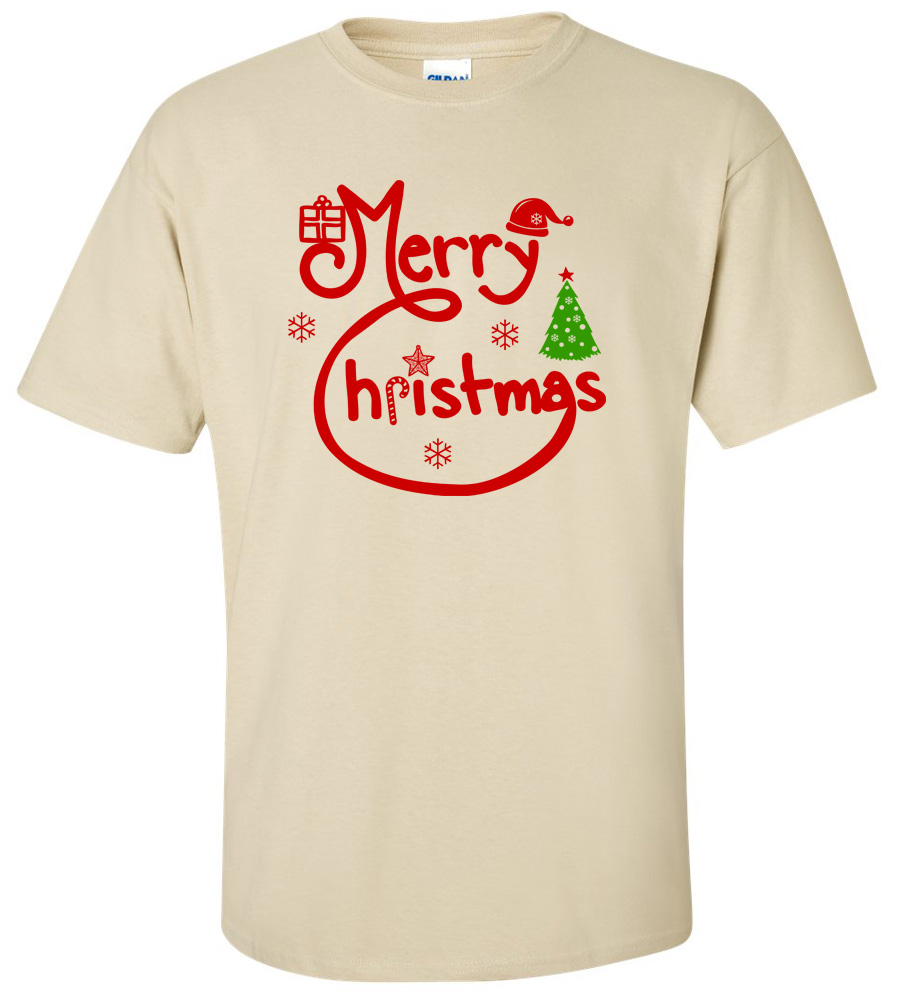Merry Christmas T-shirt Christmas Tee