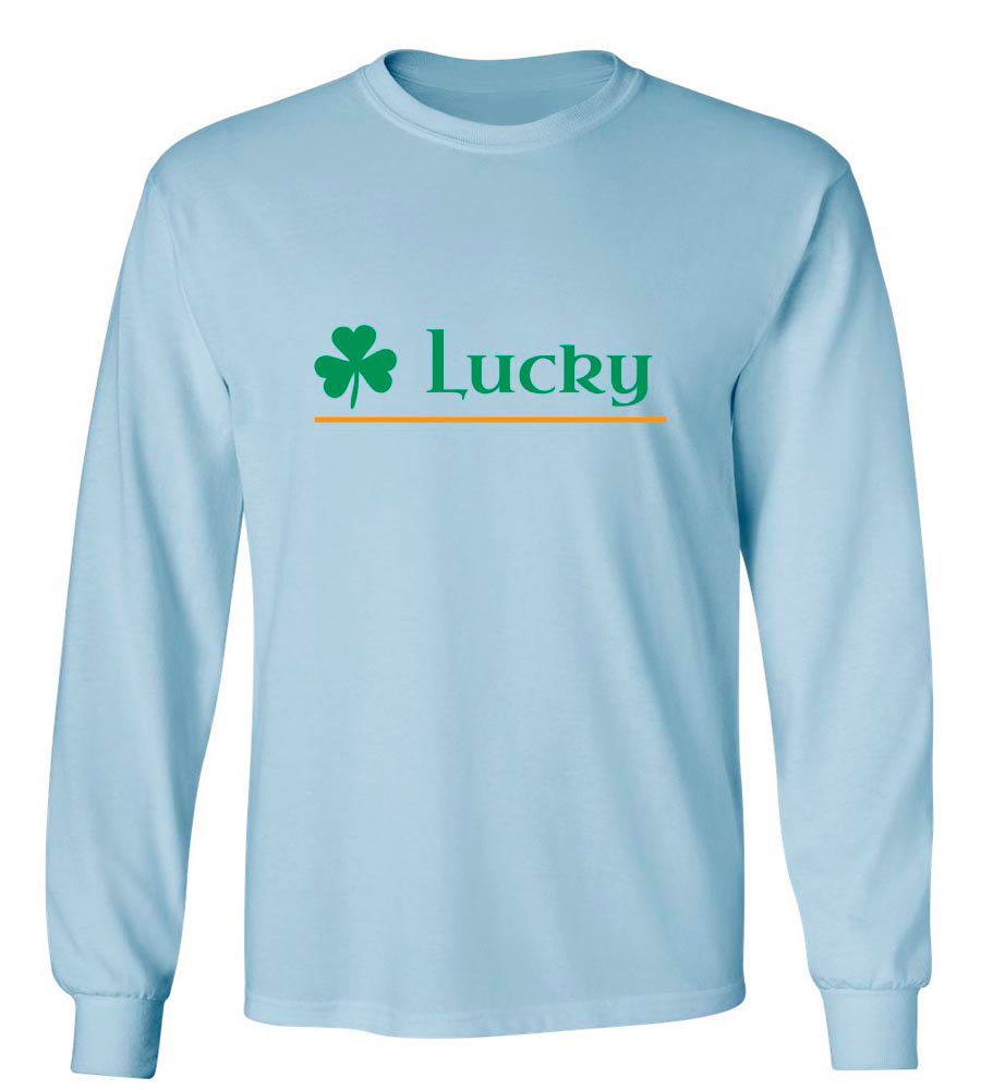 Lucky Shamrock St. Patrick's Day Long Sleeve T-Shirt