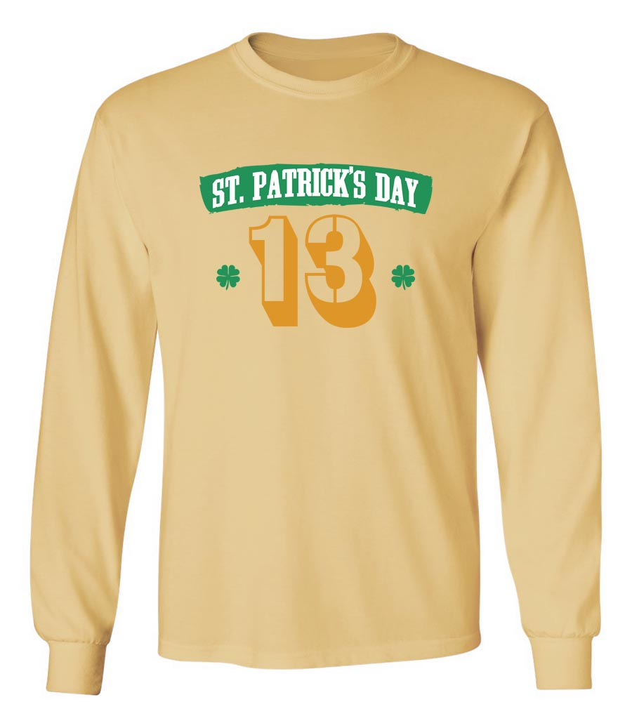 2013 St. Patrick's Day Long Sleeve T-Shirt