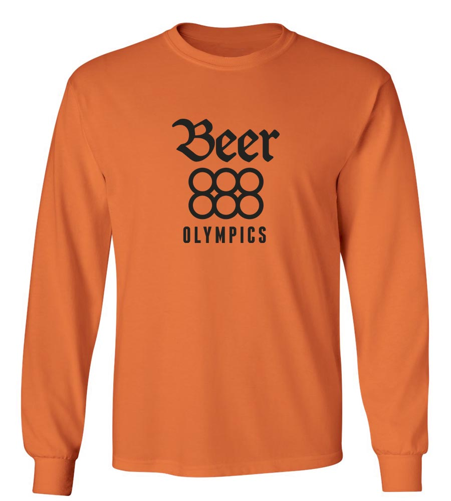Beer Olympics  Long Sleeve T-Shirt