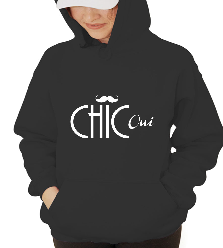 Chic Oui Hooded Sweatshirt