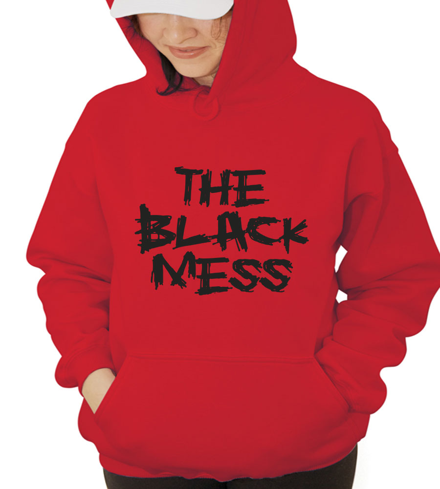The Black Mess Hooded Sweatshirt