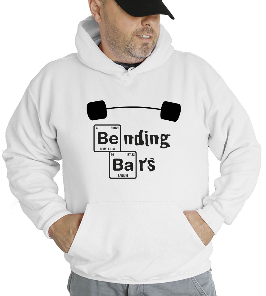 Bending Bars Hooded Sweatshirt