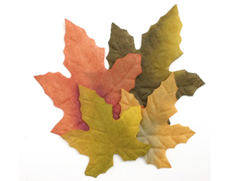 Silk Maple Fall Leaves Wedding 4000