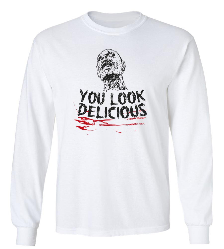 Halloween You Look Delicious Long Sleeve T-Shirt
