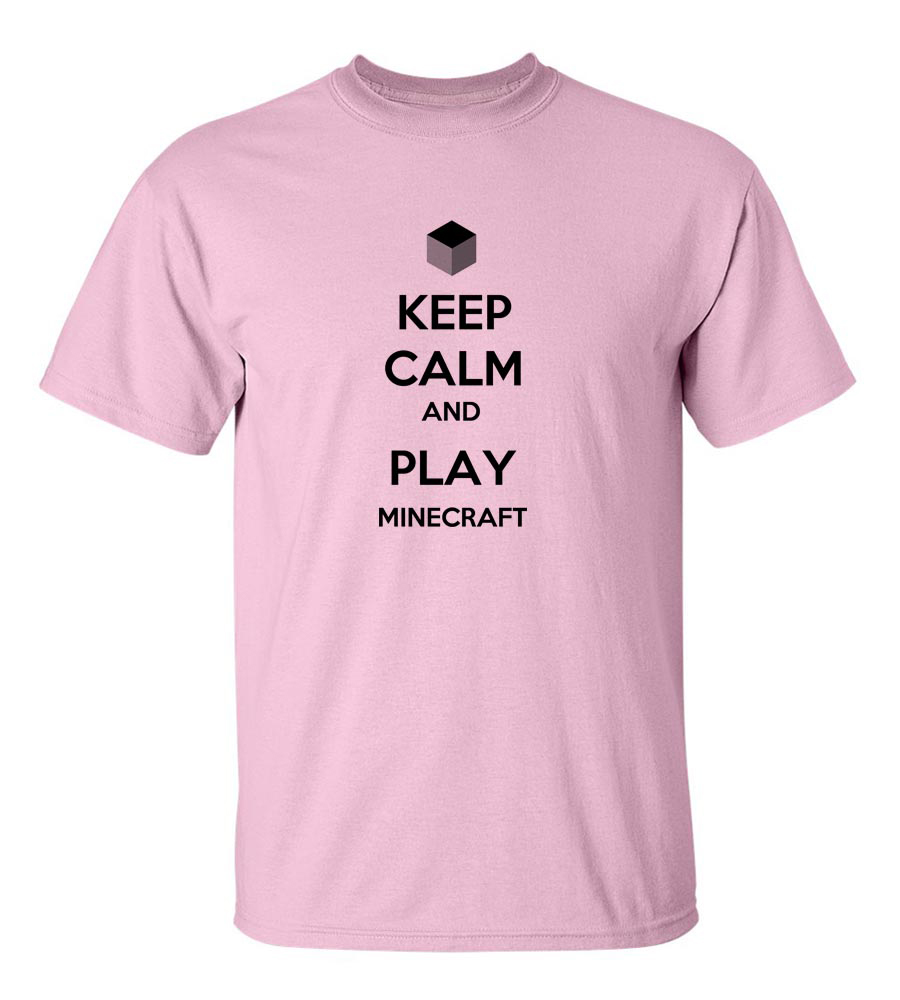 Status : Editing Keep Calm And Play Minecraft  Funny T Shirt