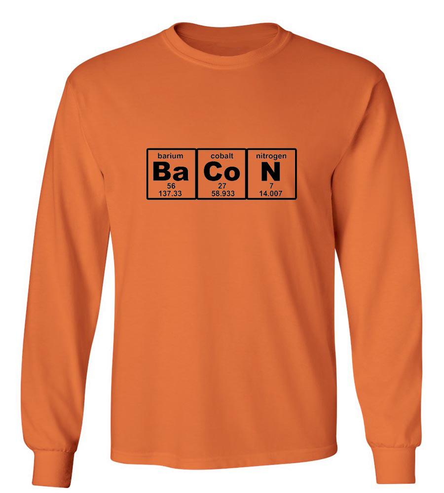 BaCoN  Long Sleeve T-Shirt
