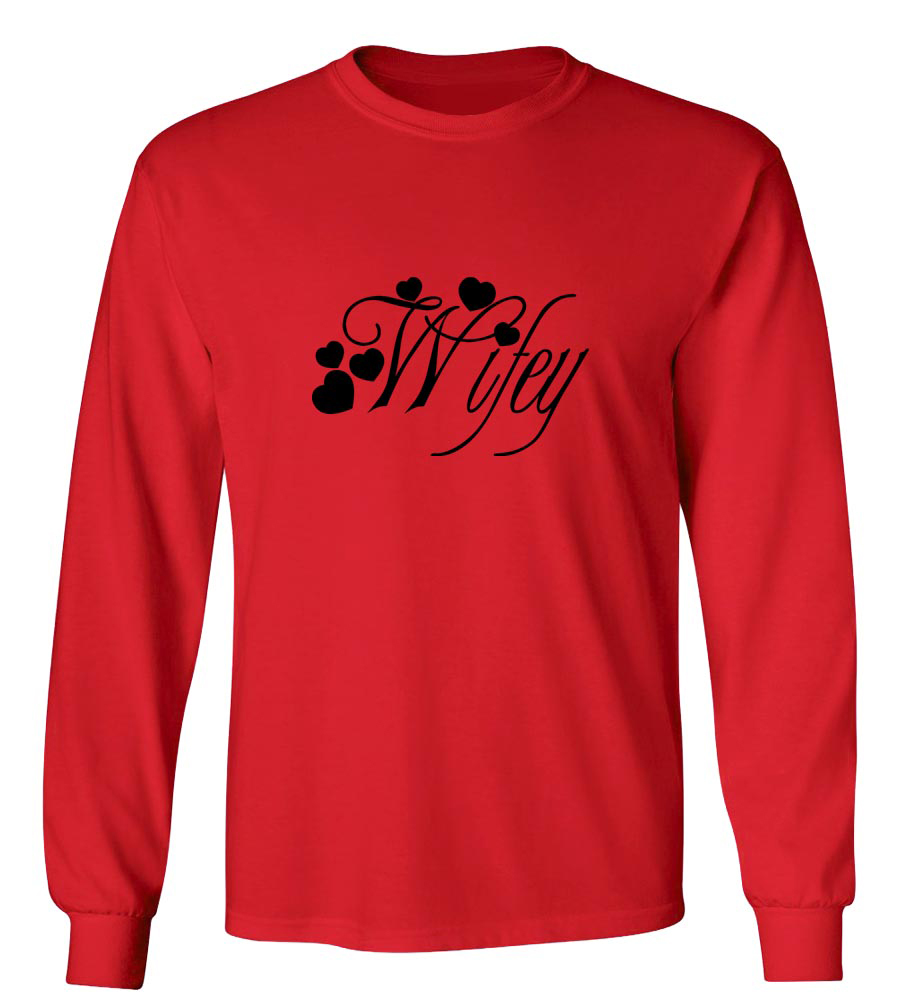 Wifey Long Sleeve T-Shirt