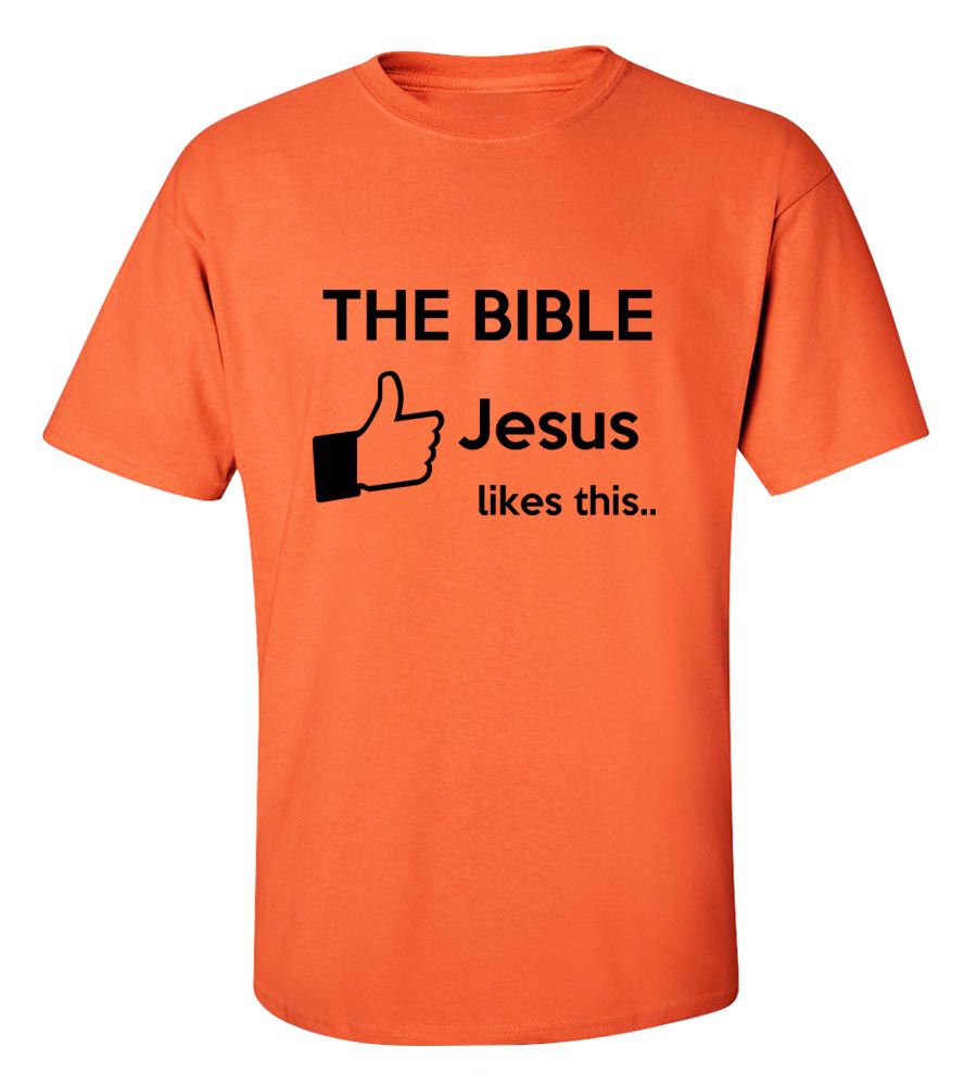 Jesus Likes the Bible T-shirt