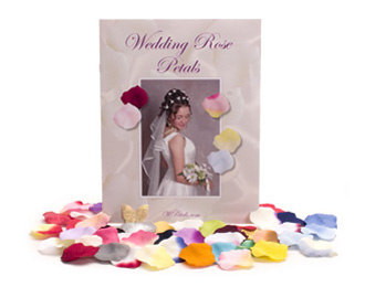 Samples Silk Rose Petals Wedding