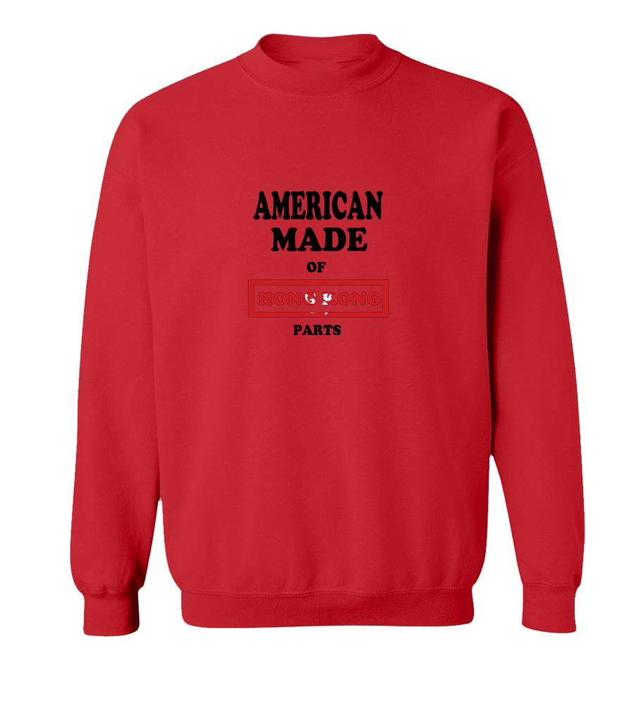 American Made Of Hong Kong Parts crew neck Sweatshirt