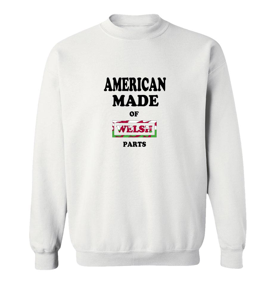 American Made Of Wales Parts Crew Neck Sweatshirt