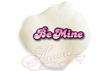 Personalized Silk Rose Wedding Petals  Be Mine 100
