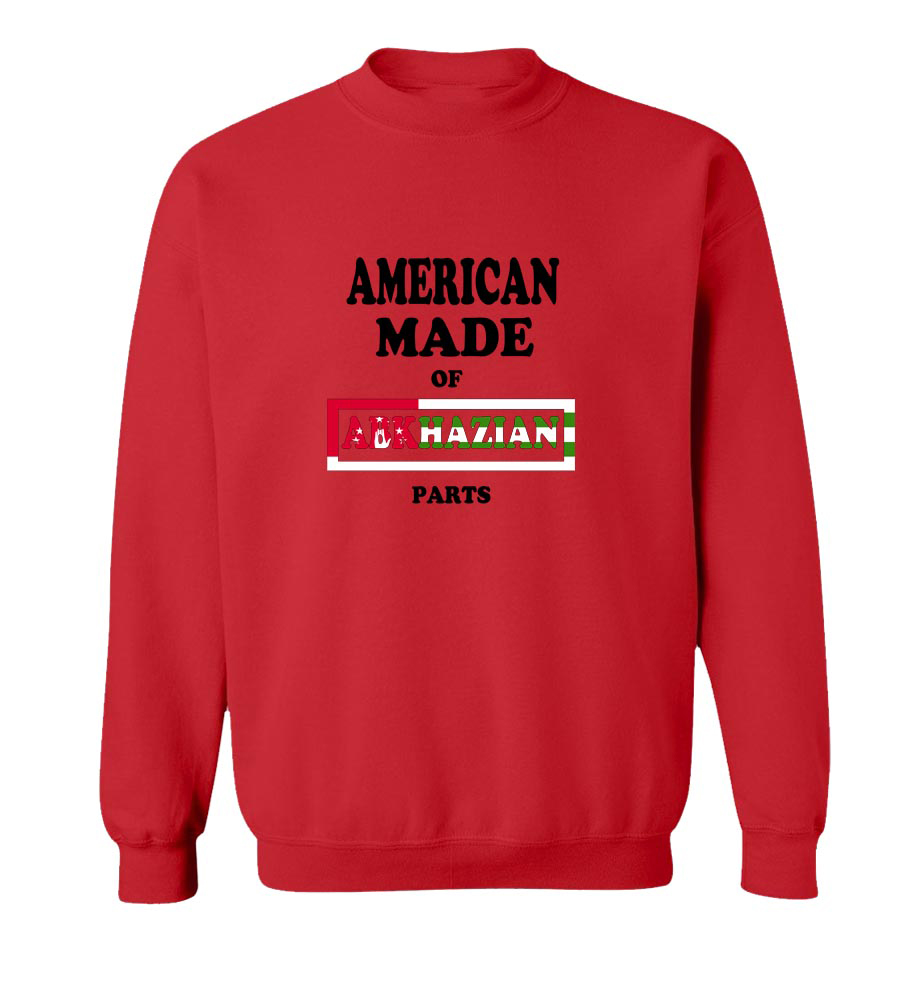 American Made Of Abkhazian Parts crew neck Sweatshirt