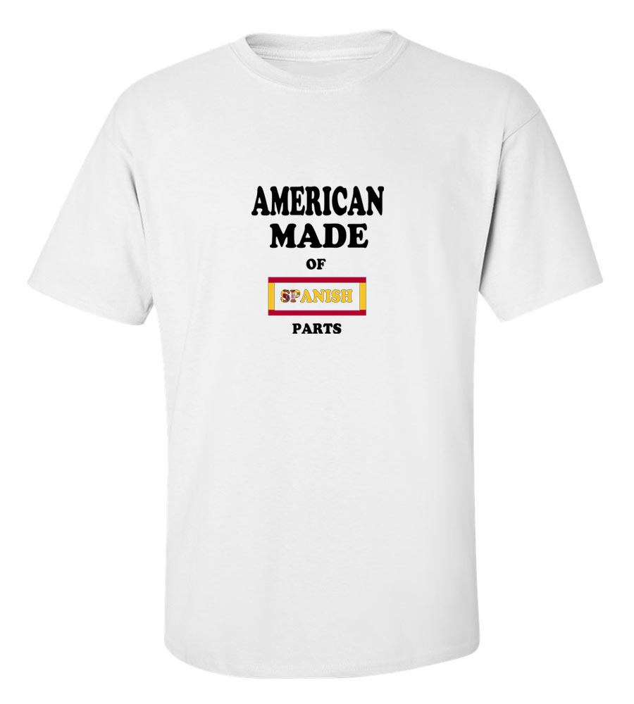American Made of Spain Parts T Shirt