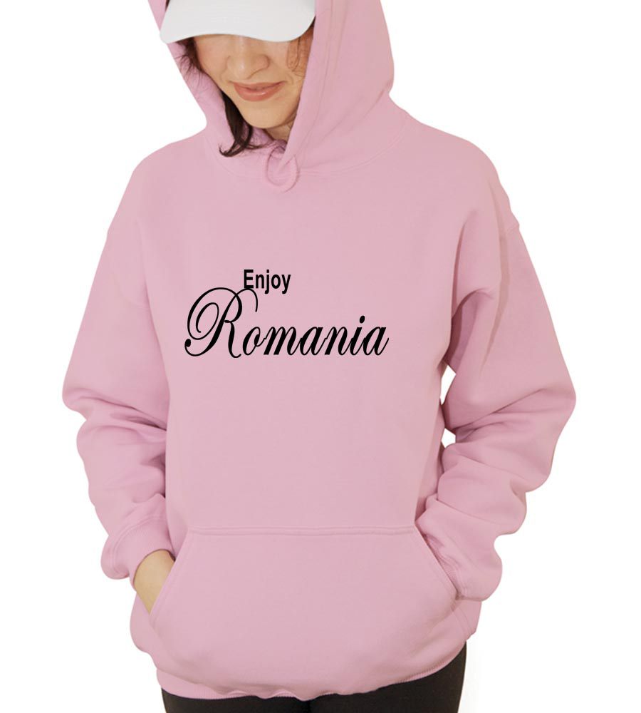 Enjoy Romania  Hooded Sweatshirt