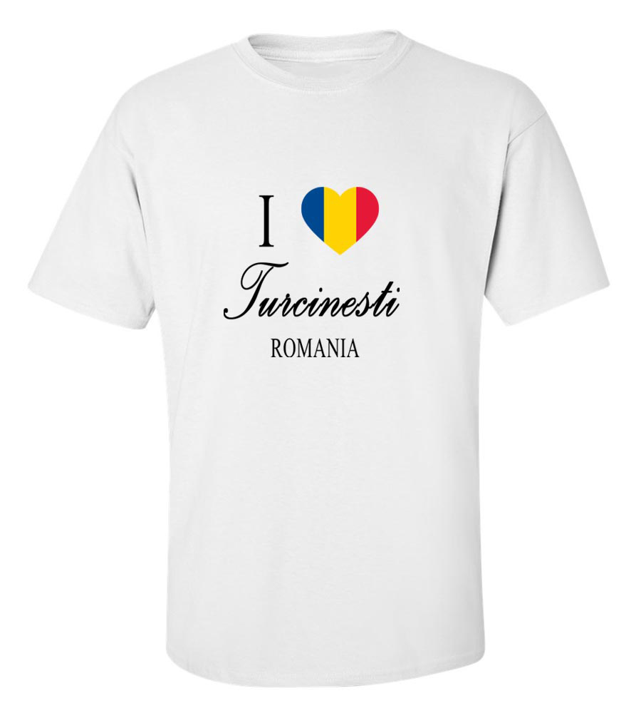 I Love Turcinesti Romania T-Shirt